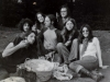 Robb, Michael, Kathy, Walter, Jerry, Leila & Lois; Amsterdam; 1972 (Photo by Walter Zelnick)