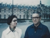 Ann Tarnoff & Joseph Tarnoff; Paris, 1972