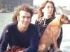 Robert, Leila & Boefje; Amsterdam, 1972 (Photo by Walter Zelnick)